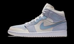 Air Jordan 1 Mid Mixed Textures Blue
