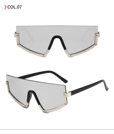 Half Frame Fashion Women Sunglasses