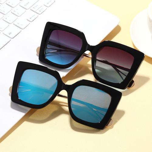 Lady Sun glasses UV400 Square Oversize Women Shades Sunglasses