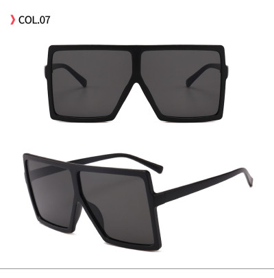 Trend Design Oversize Men Women  Cool Square Flat Top  Shade Nice Daily Accessory