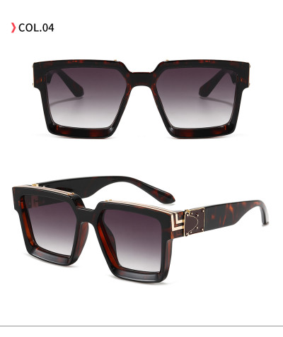 Luxury Men Women Brand Designer Square Shades Sunglasses