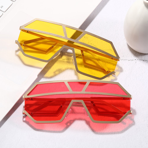Women Big Frame Sun glasses Trendy Oversized Shield Shades Sunglasses