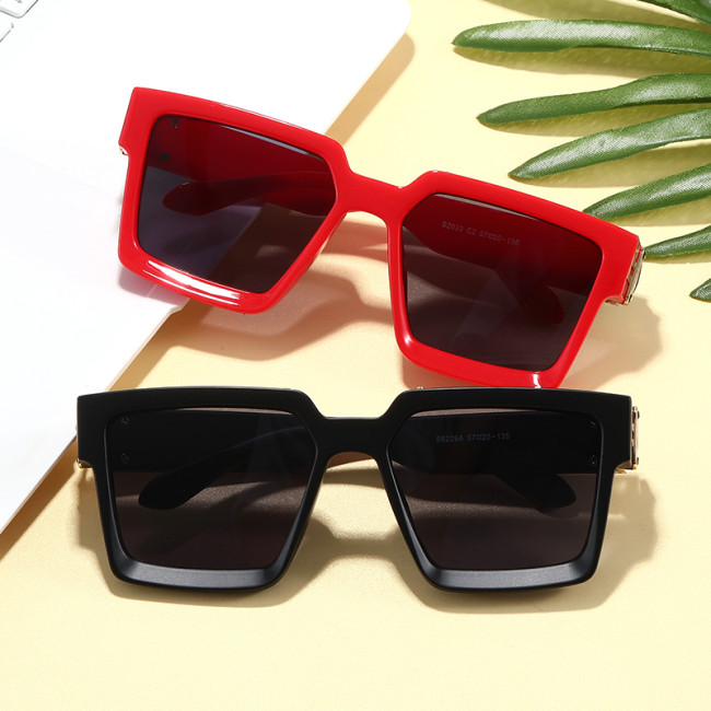 Luxury Men Women Brand Designer Square Shades Sunglasses