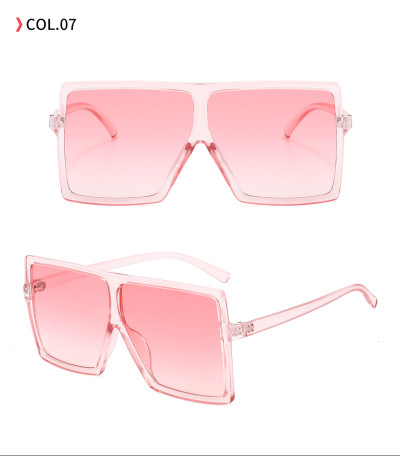 oversize square sunglasses Pink