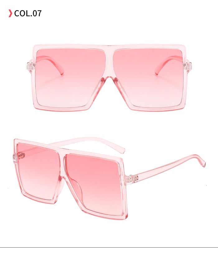 oversize square sunglasses Pink