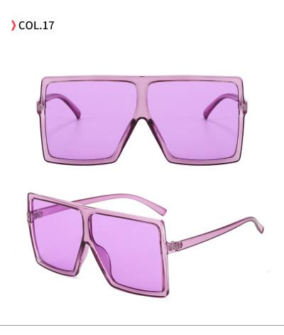 oversize square sunglasses Purple