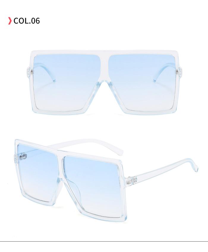 oversize square sunglasses Light Blue