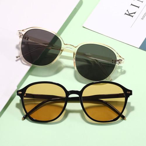 Retro Vintage Sun glasses uv400 Men Women Fashion Round Sunglasses