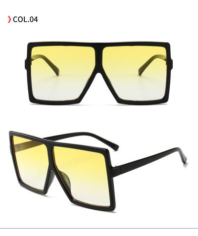oversize square sunglasses Black/Yellow