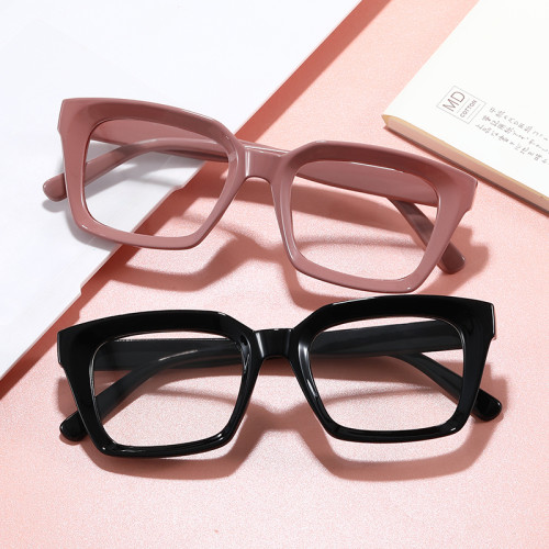 Lady Cheap Plastic Ornament Eyeglasses Trendy Women Optical Frames