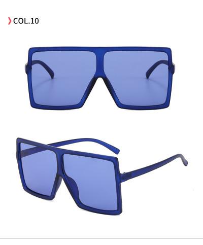 oversize square sunglasses Dark Blue