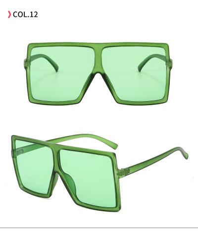 oversize square sunglasses Light Green