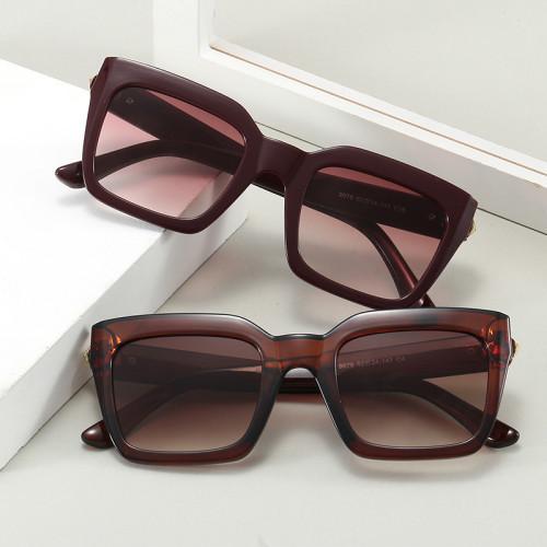 Men Women Sun glasses 2020 Black Square UV400 Shades Sunglasses
