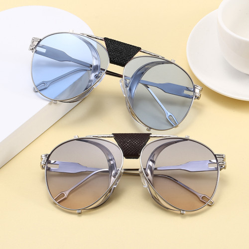 Steampunk Style Men Women Shades Sunglasses