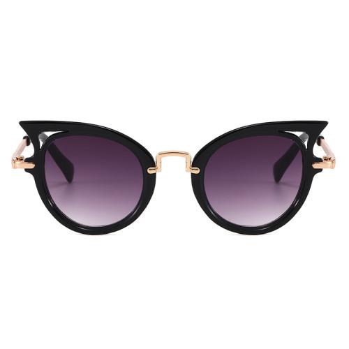 boys Girls uv400 Sun Shades Glasses Cool Small Size Cat Eye Sunglasses for Children