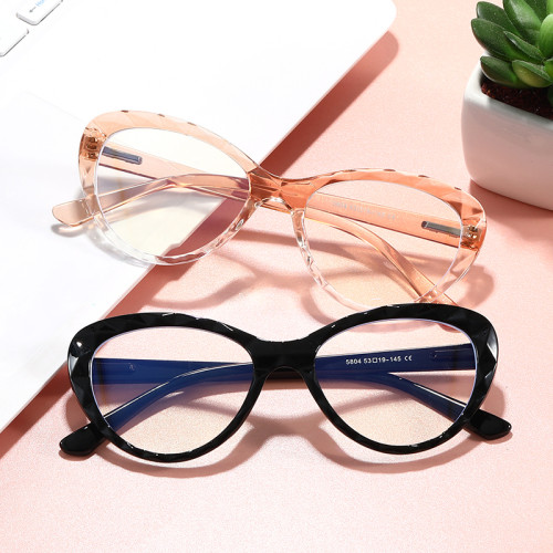 Elegant Women Eyeglasses Office Lady Cat Eye Blue Light Blocking Computer Glasses