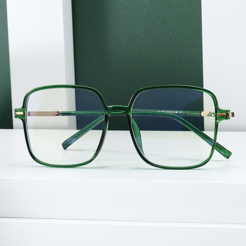 Square Oversize Blue Light Blocking Glasses