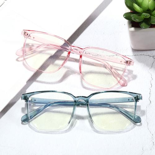 Men's Light Weight TR90 Frame Blue Light Blocking Computer Gaming Glasses