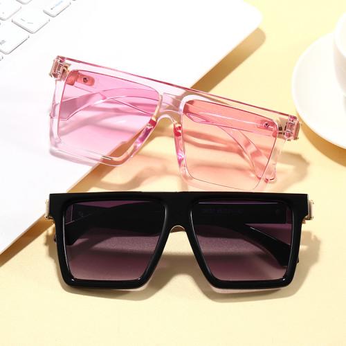 Luxury Fashion Sun glasses UV400 Men Women Flat Top Square Sunglasses