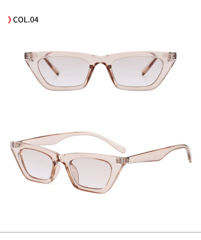 Lady Sun glasses Women's Retro Vintage Small Cat Eye Sunglasses