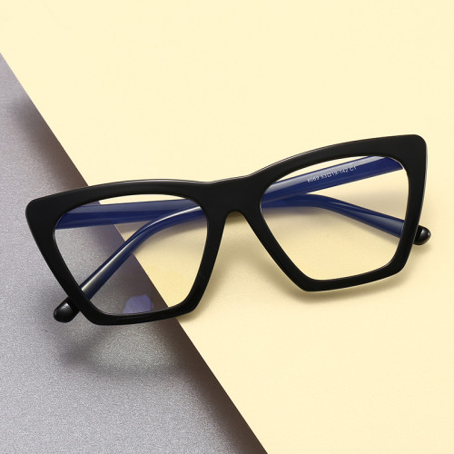 Women Glasses TR90 Frame Anti Blue Light Blocking Cat Eye Optical Frames