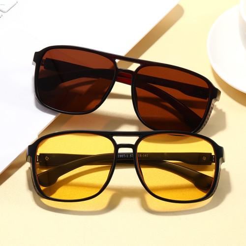 Vintage Plastic Steam Punk Sun glasses UV400 Men Shades Side Shield Steampunk Sunglasses