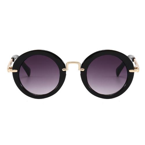 Round Girls UV400 Shades Small Size Sunglasses for Children