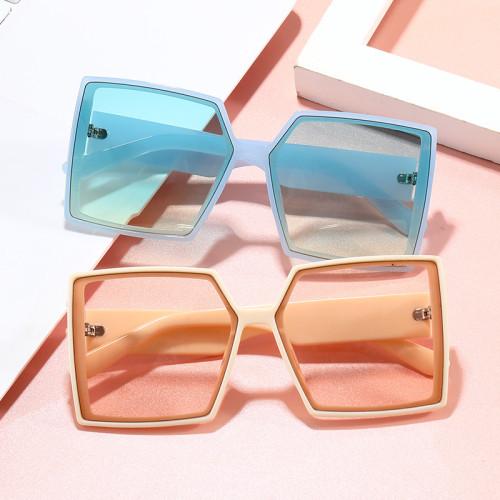 UV400 Sun glasses 2020 Big Frame Oversized Square Black Shades Sunglasses