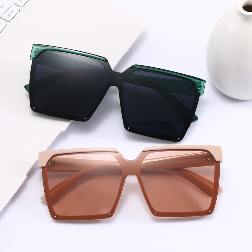 Square Men Women UV400 Shades Sunglasses