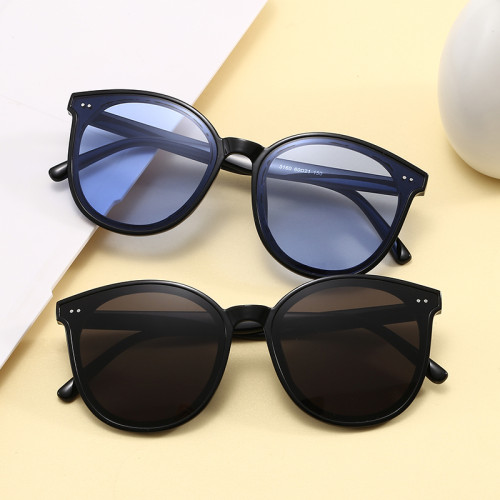 Oversized Round Men Women UV400 Shades Sunglasses