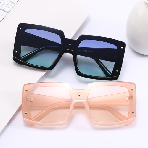 Mono Lens Sun glasses Oversized UV400 Shades Sunglasses