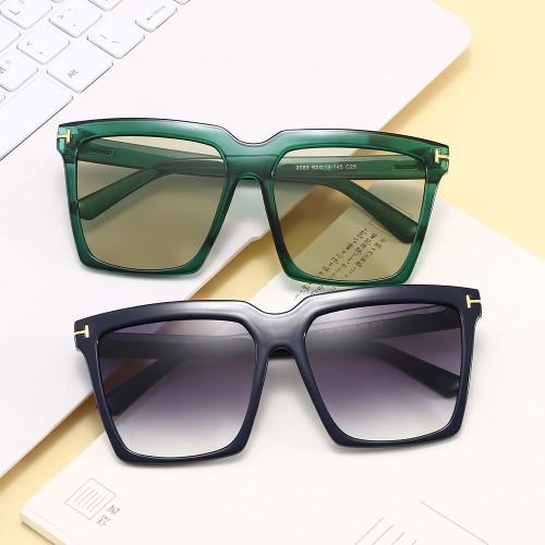 Men Women Oversized Square UV400 Shades Sunglasses