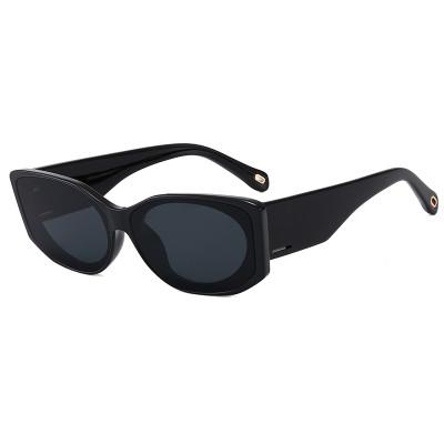 Retro Vintage Solid Men Women UV400 Shades Sunglasses