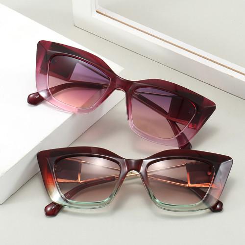 Retro Vintage Lady Women UV400 Cat Eye Shades Sunglasses