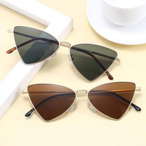 Ladies Shades Women Cute Triangle Cat Eye Sunglasses