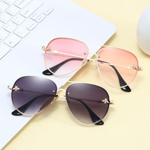 Men Women Pilot Gradient UV400 Shades Sunglasses