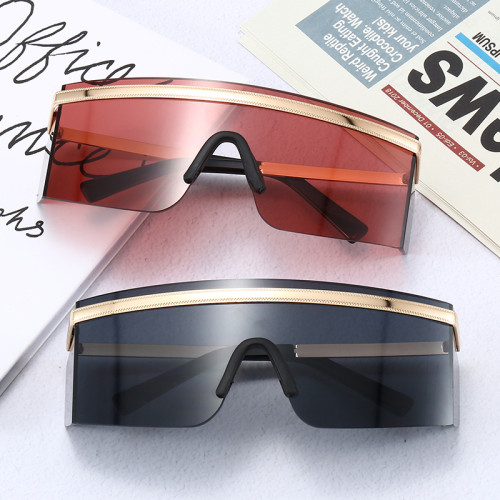 Monolens Goggles 2020 Fashion Designer Women Sunglasses