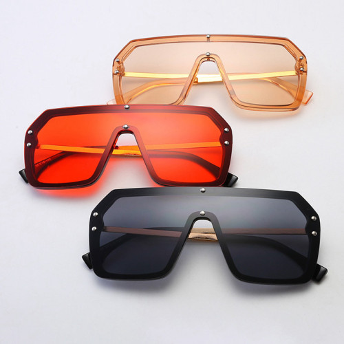 One Piece Lens Designer Men Women UV400 Shades Sunglasses