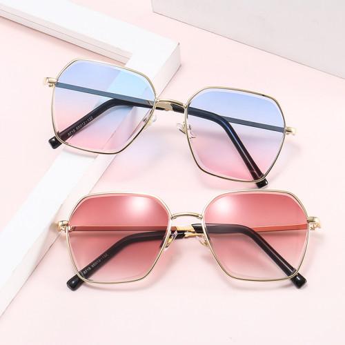 UV400 Diamond Cut Tinted Lenses Gradient Women Shades Sunglasses