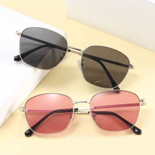 Retro Vintage Metal Frame Men Women UV400 Sunglasses