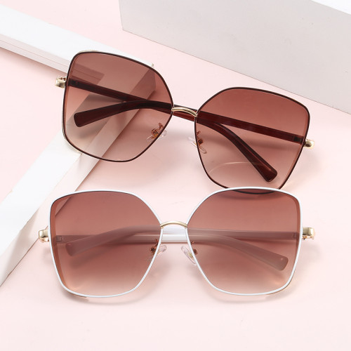 Oversized Bling Bling Designer Women Shades Sunglasses