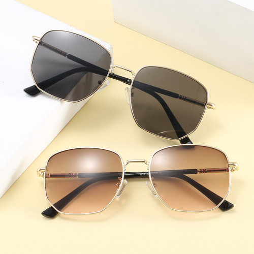 Classic Shape Round Metal Men Women Sunglasses