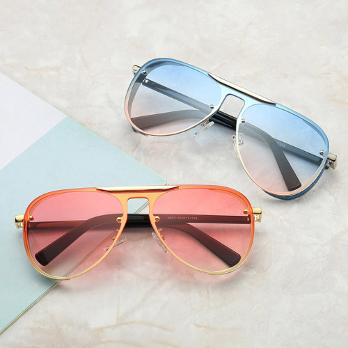 Elegant Luxury Glitter Women UV400 Shades Sunglasses