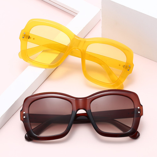 Ready Stocked Fashion 2020 Plastic Shades Sunglasses