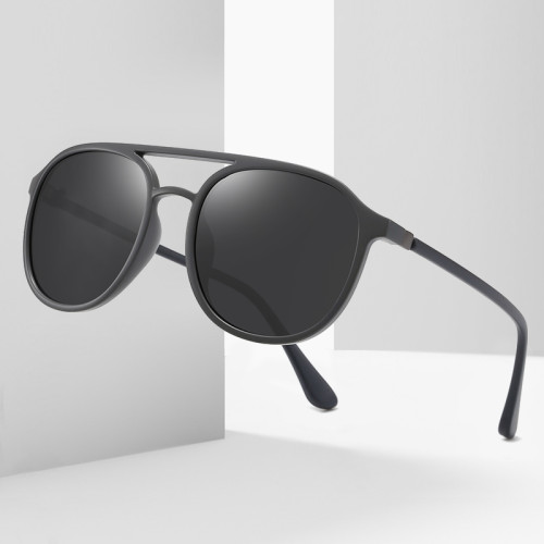 Classic Men Shades TR90 Frame Polarized UV400 Driving Sunglasses