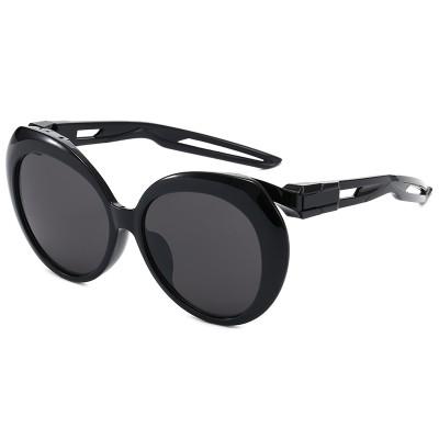 UV400 Plastic Round Women Sporty Butterfly Sunglasses
