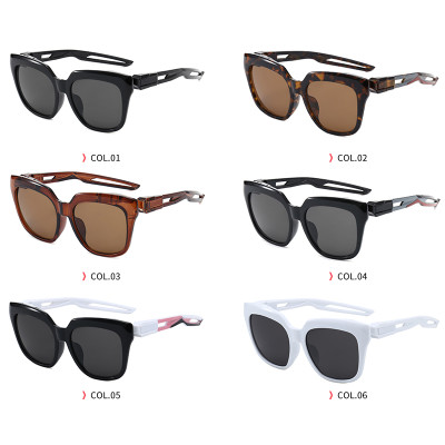 Designer Butterfly Shades Square Oversize D-Frame Sunglasses