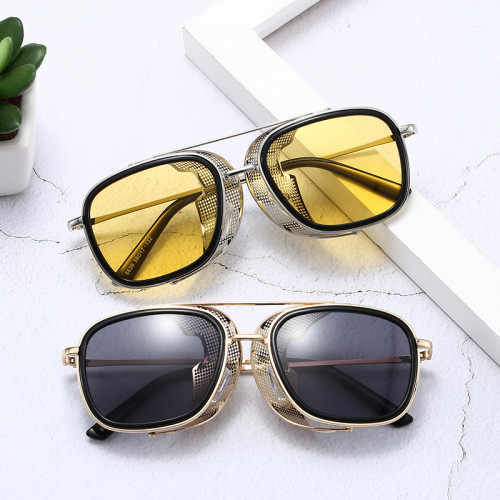 Men's Steampunk 2020 Side Flip Up Shades Sunglasses