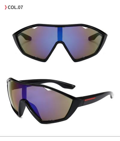 Men Women Oversized Sporty Shield Sunglasses