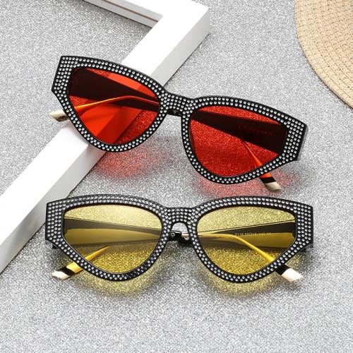 Sparkling Women Cat Eye Sunglasses